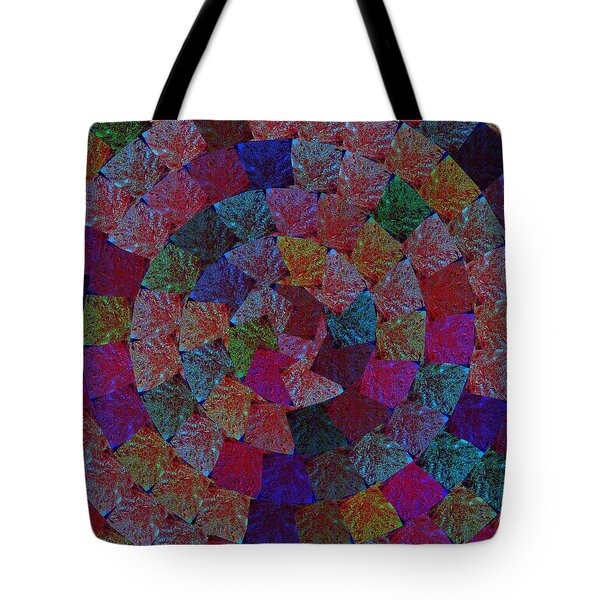 Magic Marbles Marvellous Colorful Pattern Spiral Sparkle Wonderland Kidsroom School Nursary Daycare  Tote Bag