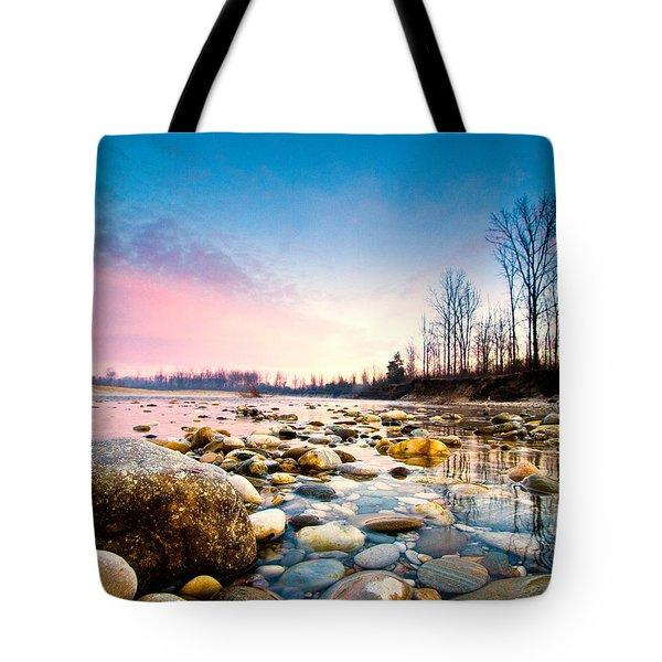 Magic Morning Tote Bag by Davorin Mance