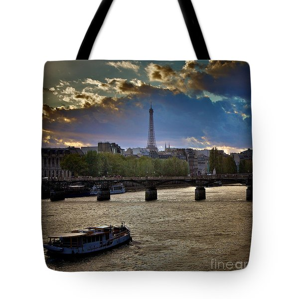 Magic Paris Tote Bag