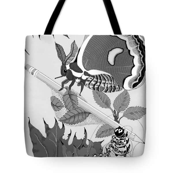 Magic Pencil Tote Bag by Carol Jacobs