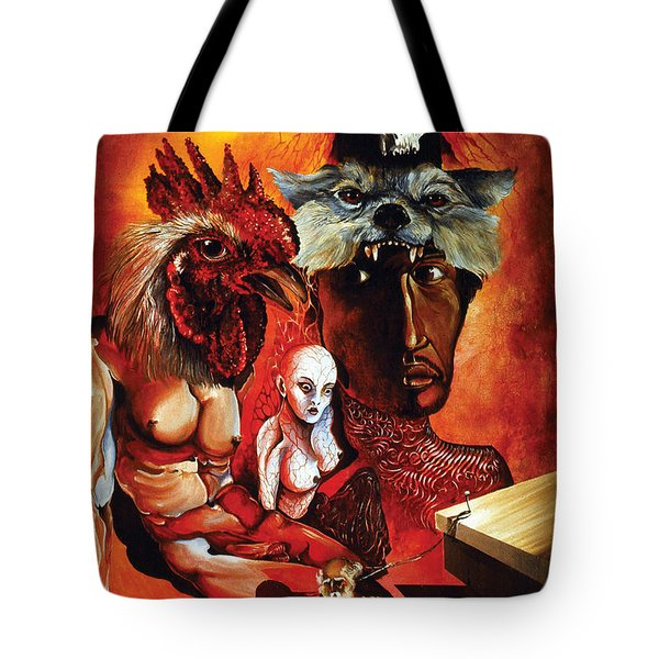 Magic Poultry Tote Bag