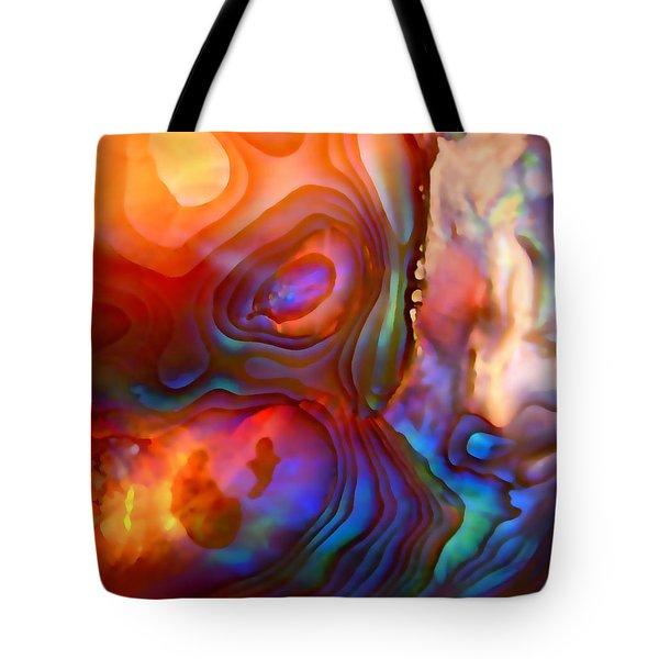 Magic Shell Tote Bag by Rona Black