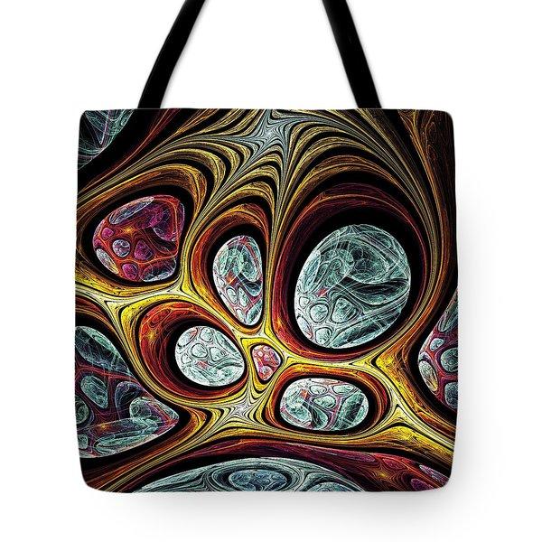 Magic Windows Tote Bag by Anastasiya Malakhova
