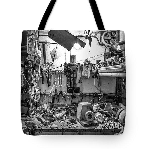 Magic Workshop Tote Bag