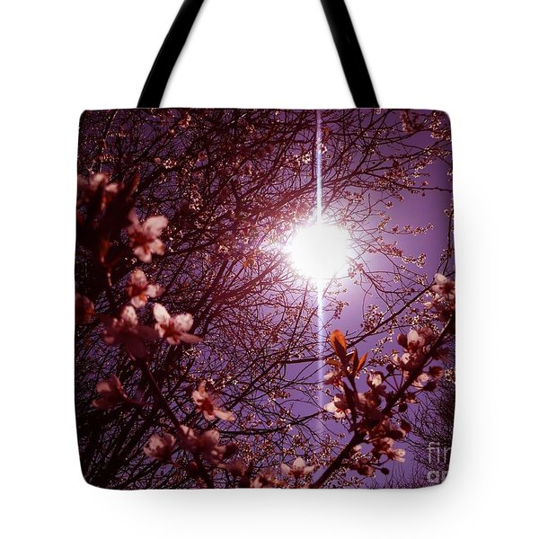 Tote Bag featuring the photograph Magical Blossoms by Vicki Spindler