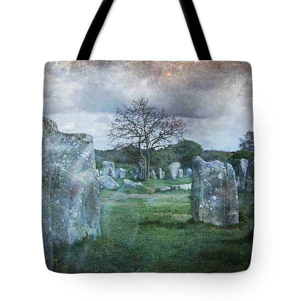 Magical Brittany Tote Bag by Barbara Orenya