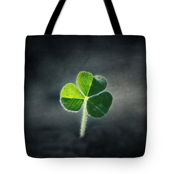 Magical Clover Tote Bag by Melanie Lankford Photography