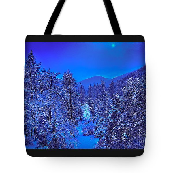 Magical Forest Tote Bag by Gem S Visionary