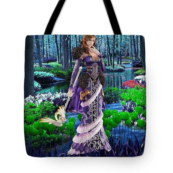 Magical Garden Tote Bag by Marvin Blaine