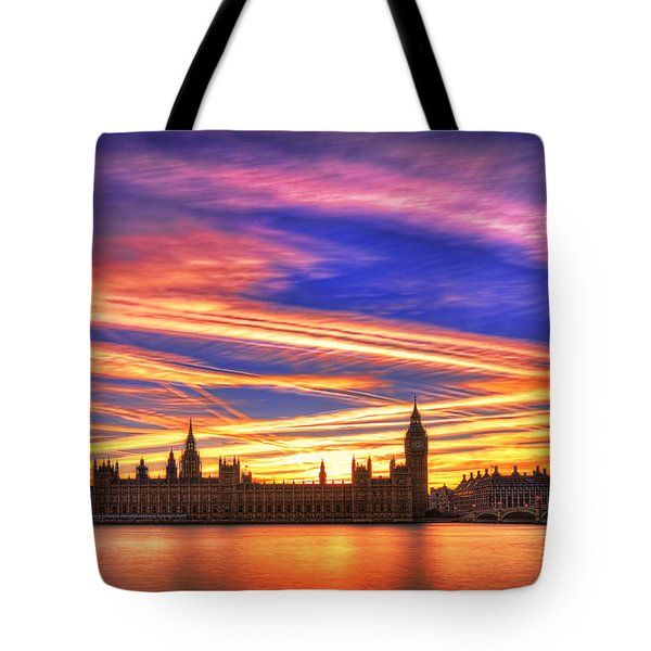 Magical London Tote Bag