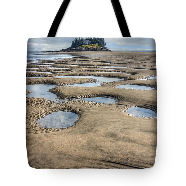 Tote Bag featuring the photograph Magical Maine by Tammy Wetzel