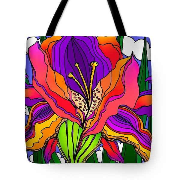Magical Mystery Garden Tote Bag