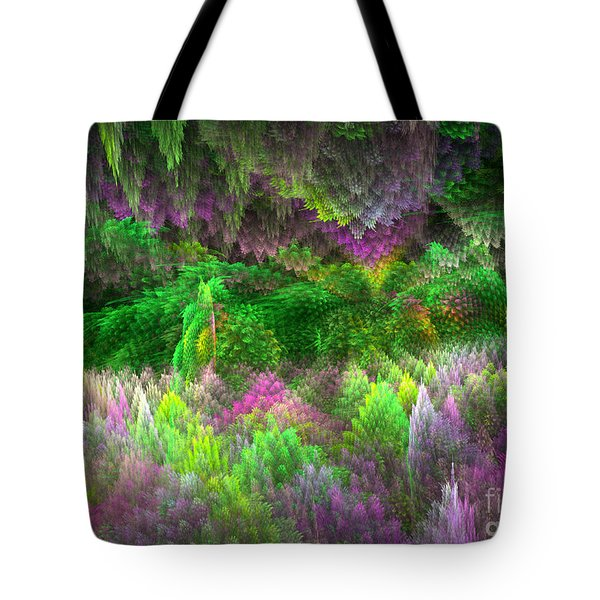 Magical Mystery Woods Tote Bag