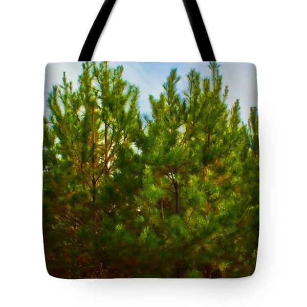 Magical Pines Tote Bag