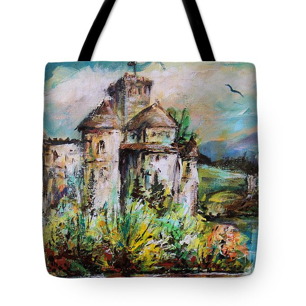 Magical Palace Tote Bag