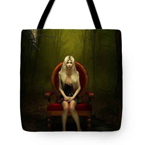 Magical Red Chair Tote Bag