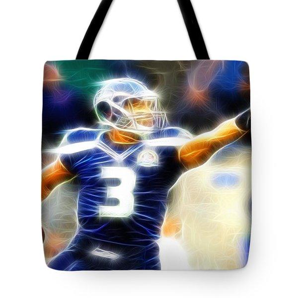 Magical Russell Wilson Tote Bag by Paul Van Scott