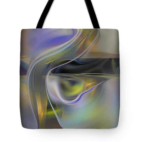 Magical Space And Time Tote Bag by rd Erickson
