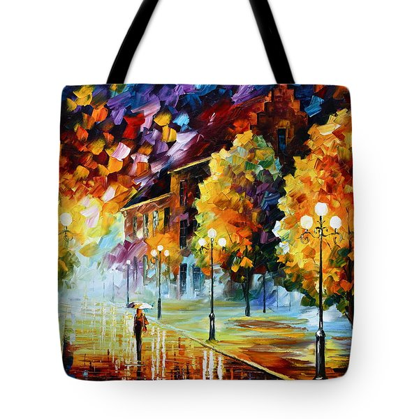 Magical Time Tote Bag by Leonid Afremov