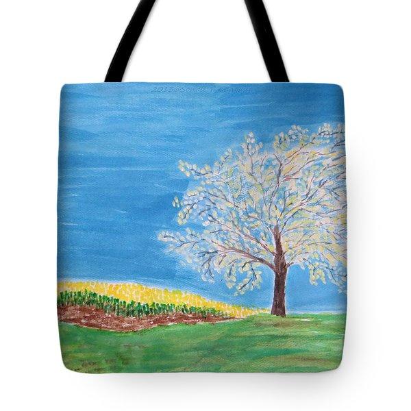 Magical Wish Tree Tote Bag