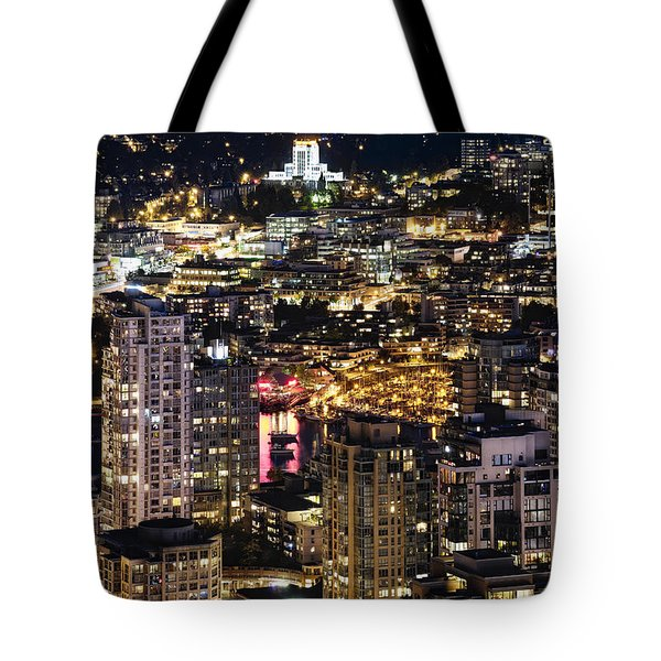 Tote Bag featuring the photograph Magical Yaletown Harbor Mdxlix by Amyn Nasser