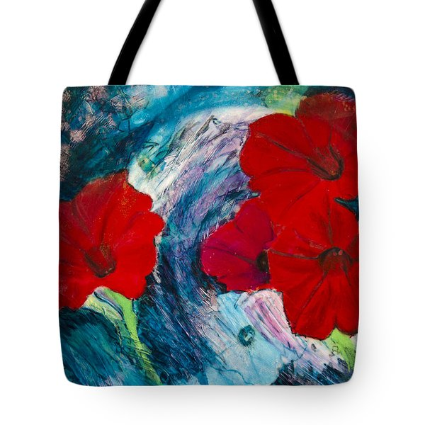 Tote Bag featuring the painting Magneto by Ron Richard Baviello