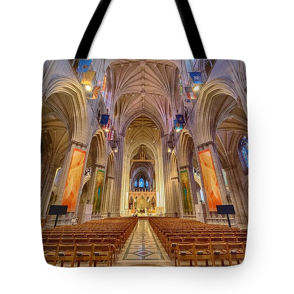 Magnificent Cathedral V Tote Bag