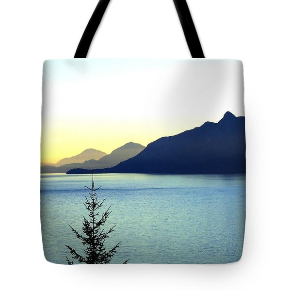 Magnificent Howe Sound Tote Bag by Will Borden