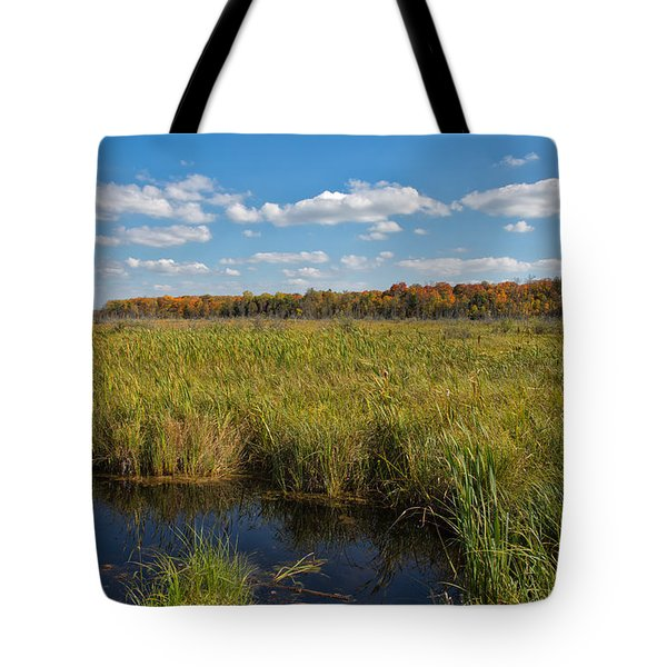 Magnificent Minnesota Marshland Tote Bag