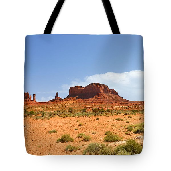 Magnificent Monument Valley Tote Bag by Christine Till