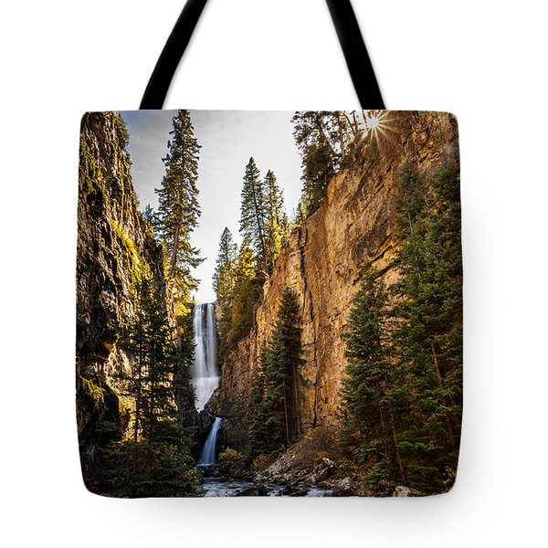 Magnificent  Mystic Falls  Tote Bag by Steven Reed