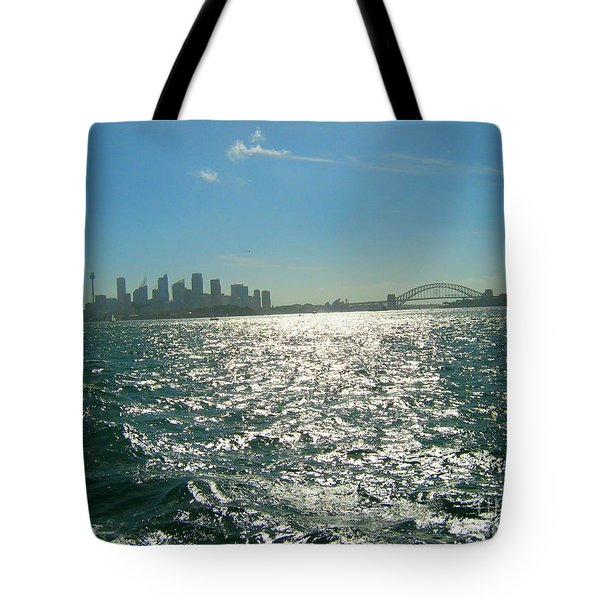 Tote Bag featuring the photograph Magnificent Sydney Harbour by Leanne Seymour