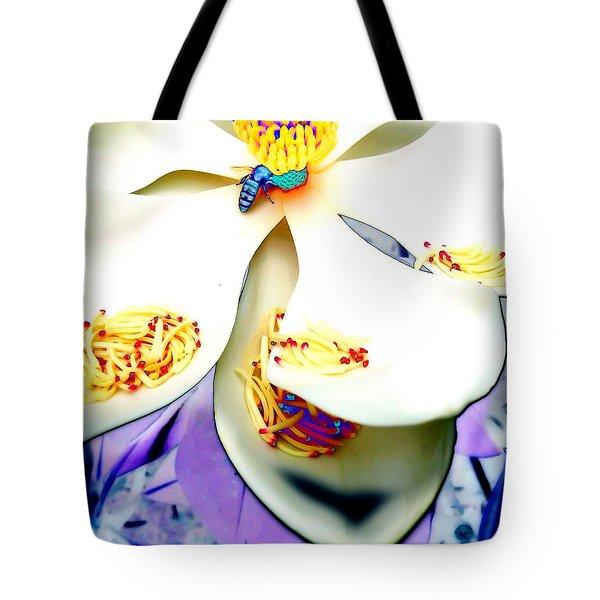 Magnolia Bee Tote Bag
