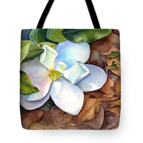 Magnolia Tote Bag by Bonnie Rinier