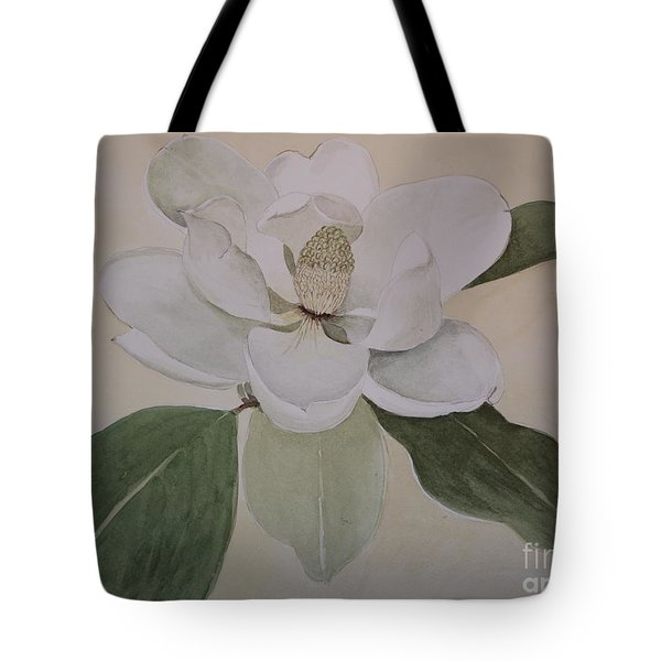 Tote Bag featuring the painting Magnolia Delight by Nancy Kane Chapman