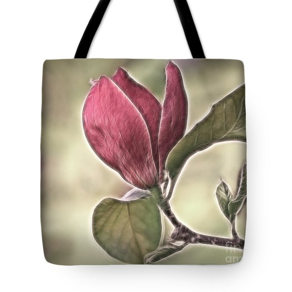 Magnolia Glow Tote Bag