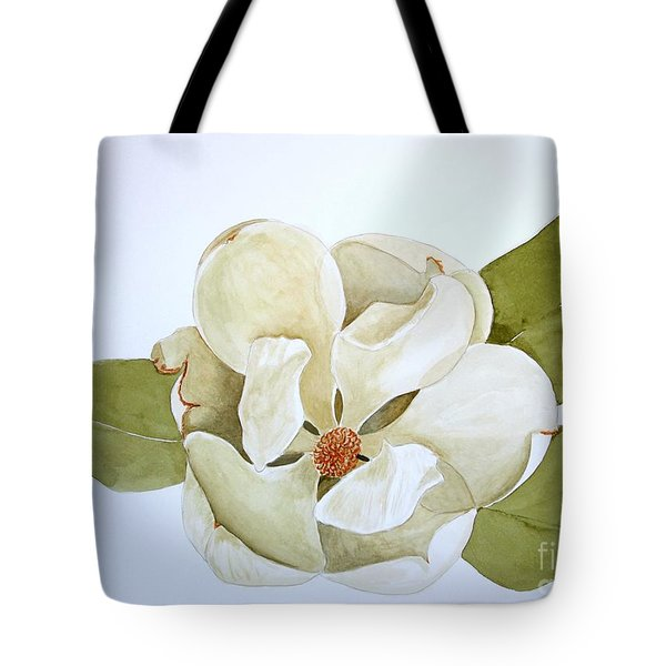 Tote Bag featuring the painting Magnolia Highlight by Nancy Kane Chapman