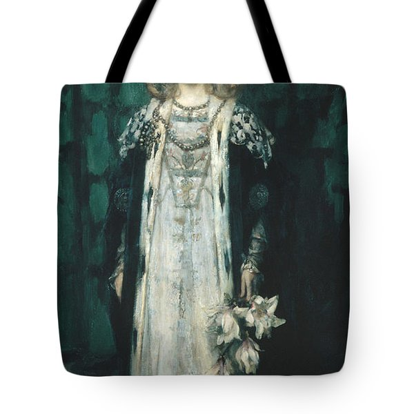 Magnolia Tote Bag by James Shannon