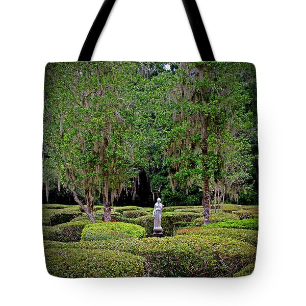 Tote Bag featuring the photograph Magnolia Maze by Jean Haynes