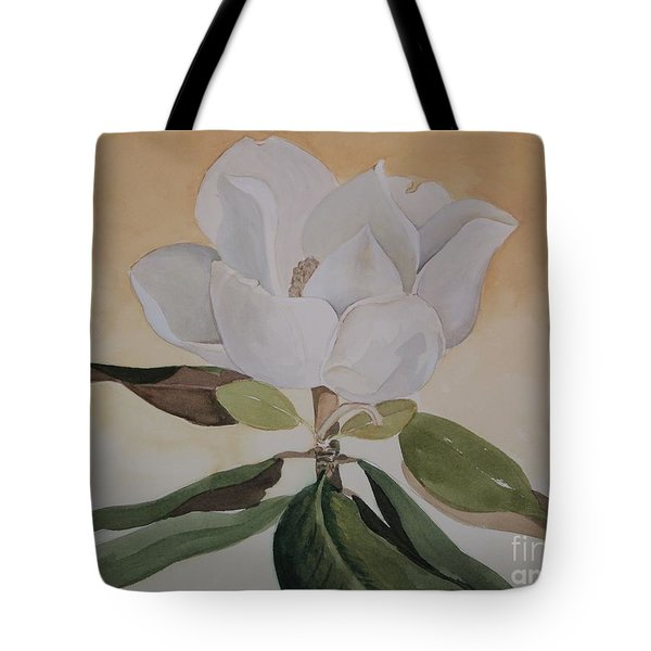Tote Bag featuring the painting Magnolia Morning by Nancy Kane Chapman