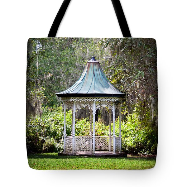 Tote Bag featuring the photograph Magnolia Pavilion by Jean Haynes