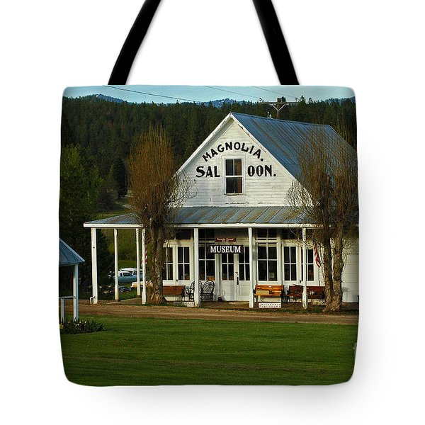 Tote Bag featuring the photograph Magnolia Saloon by Sam Rosen