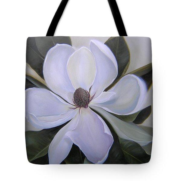 Magnolia Square Tote Bag
