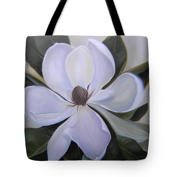 Magnolia Square Tote Bag