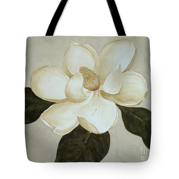 Tote Bag featuring the painting Magnolia Wave by Nancy Kane Chapman