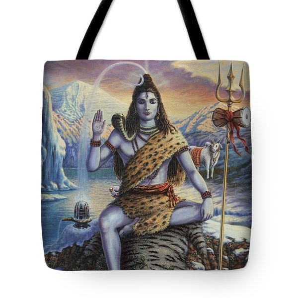Mahadeva Shiva Tote Bag