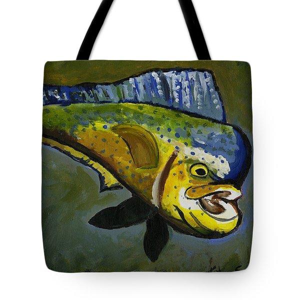 Mahi Mahi Tote Bag
