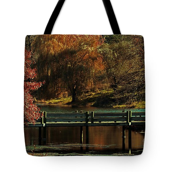 Mahoney State Park Tote Bag by Elizabeth Winter