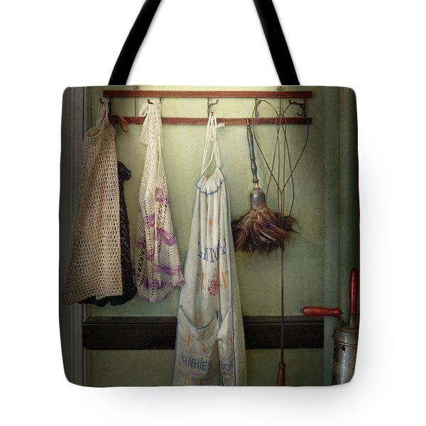 Maid - Always So Much Housework Tote Bag by Mike Savad