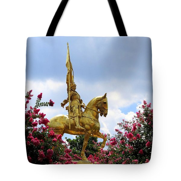 Tote Bag featuring the photograph Maid Of Orleans by Phyllis Beiser